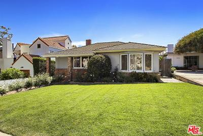 Pacific Palisades Single Family Home Active Under Contract: 15228 De Pauw Street
