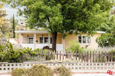 Tujunga Single Family Home Active Under Contract: 10536 Pinewood Avenue