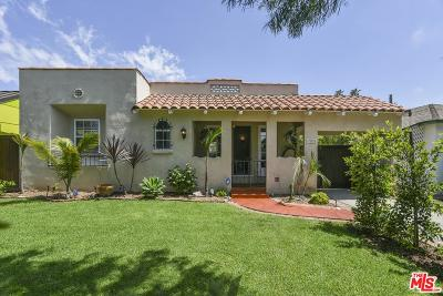 Culver City Single Family Home Active Under Contract: 3616 Wesley Street