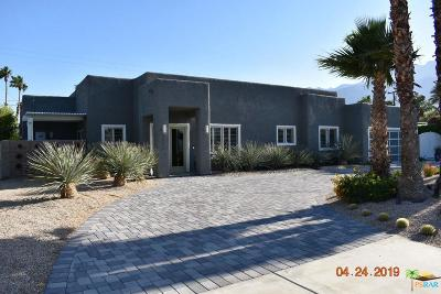 Palm Springs Single Family Home For Sale: 2345 East Francis Drive