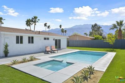 Palm Springs Single Family Home Active Under Contract: 2800 East Ventura Road