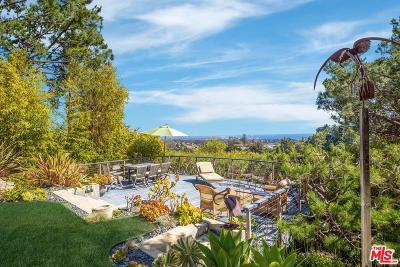 Pacific Palisades Single Family Home For Sale: 14732 Oracle Place