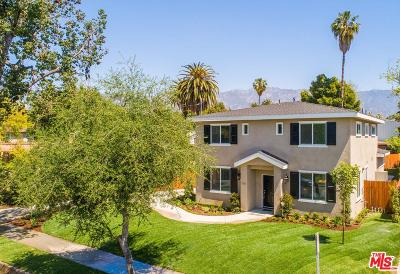 Pasadena Single Family Home For Sale: 790 Sunset Avenue