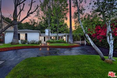 Sherman Oaks Single Family Home Sold: 4227 Woodcliff Road