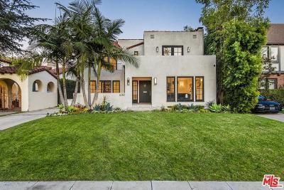 Single Family Home For Sale: 630 North Las Palmas Avenue