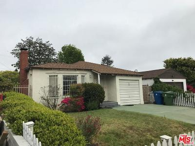 Pacific Palisades Single Family Home Active Under Contract: 830 Fiske Street