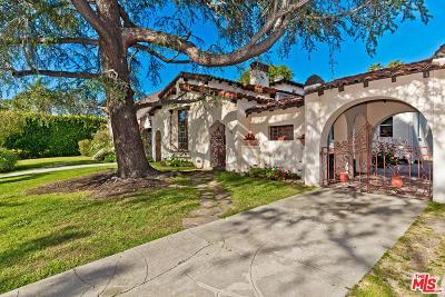 Single Family Home Active Under Contract: 634 North Las Palmas Avenue