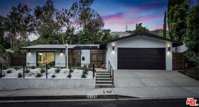 Single Family Home For Sale: 3135 Nichols Canyon Road