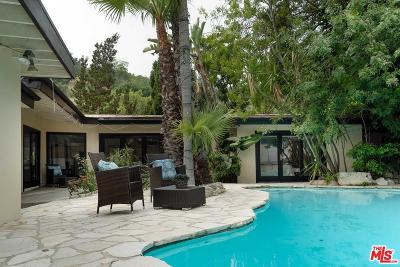 Single Family Home Active Under Contract: 3030 Nichols Canyon Road