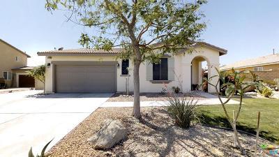 Indio Single Family Home Active Under Contract: 37661 Denton Drive