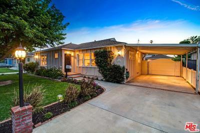 Valley Glen Single Family Home Active Under Contract: 6015 Ventura Canyon Avenue