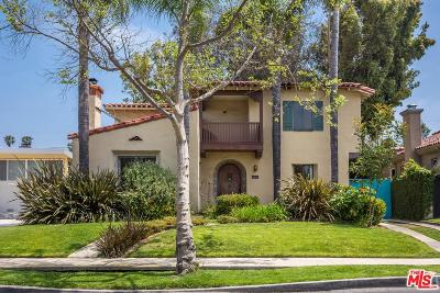 Los Angeles County Single Family Home Active Under Contract: 1226 South Curson Avenue