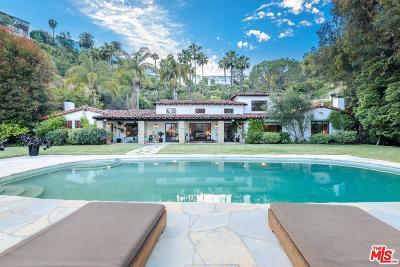 Single Family Home For Sale: 6992 Los Tilos Road