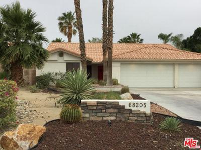 Cathedral City Single Family Home Active Under Contract: 68205 Tachevah Drive
