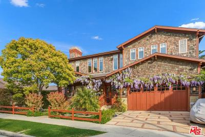 Pacific Palisades Single Family Home For Sale: 17062 Bollinger Drive
