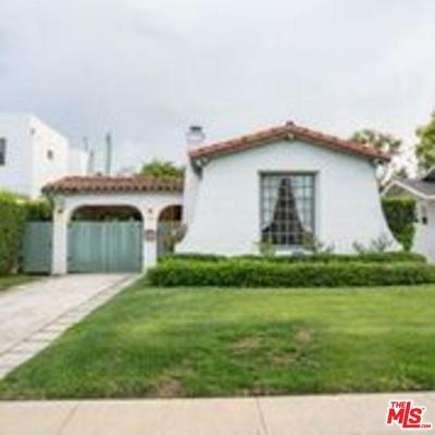 Los Angeles County Single Family Home Active Under Contract: 2353 Greenfield Avenue