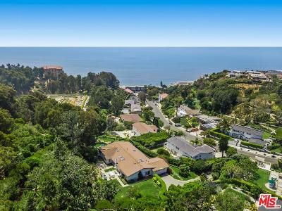 Pacific Palisades Single Family Home For Sale: 250 Surfview Drive