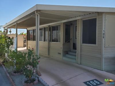 Mobile Home For Sale: 69801 Ramon Road #106