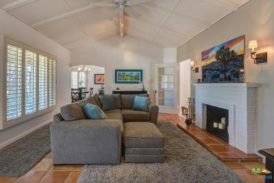 Palm Springs Single Family Home For Sale: 537 North Calle Rolph