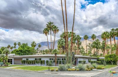 Palm Springs Single Family Home Active Under Contract: 1201 South Calle Marcus