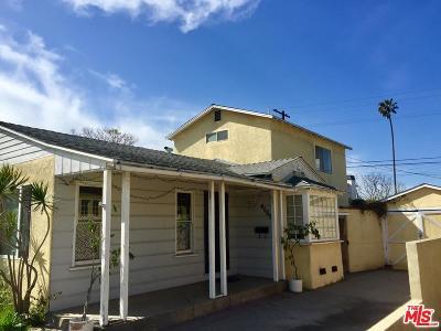 Los Angeles Single Family Home Active Under Contract: 4065 Alla Road
