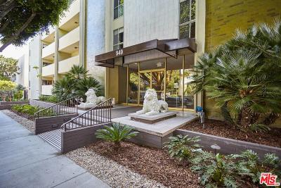 West Hollywood Condo/Townhouse Active Under Contract: 949 North Kings Road #208