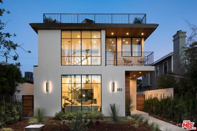 Venice Single Family Home For Sale: 832 Milwood Avenue