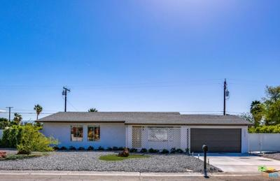 Palm Springs Single Family Home Active Under Contract: 3040 North Chuperosa Road