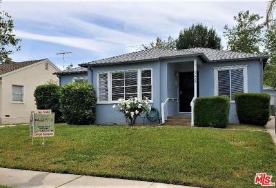 Encino Single Family Home For Sale: 17820 Bessemer Street
