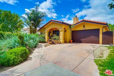 Valley Village Single Family Home Active Under Contract: 12519 Miranda Street