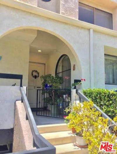 Woodland Hills Condo/Townhouse For Sale: 21620 Burbank #9