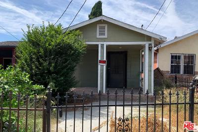 Los Angeles Single Family Home For Sale: 437 North Mountain View Avenue