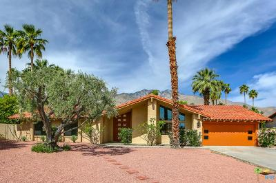 Palm Springs Single Family Home For Sale: 2325 East El Chorro Way