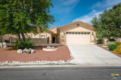Desert Hot Springs Single Family Home For Sale: 9455 Clubhouse