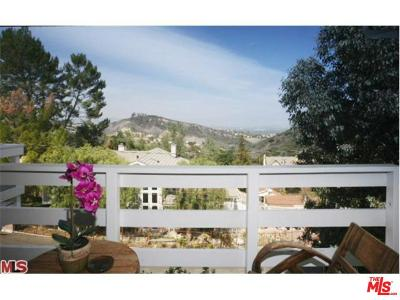 Calabasas Single Family Home Active Under Contract: 23604 Summit Drive
