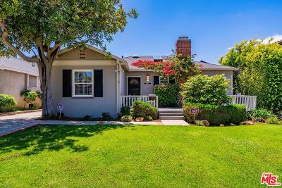 Pacific Palisades Single Family Home For Sale: 16054 Temecula Street