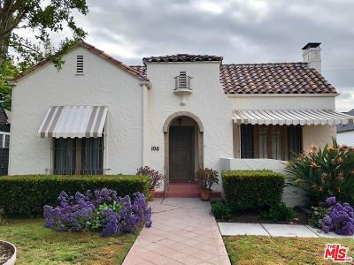 Single Family Home For Sale: 106 North Lucerne Boulevard