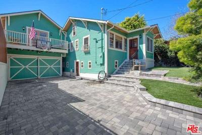 Los Angeles Single Family Home Active Under Contract: 1211 North Westmoreland Avenue