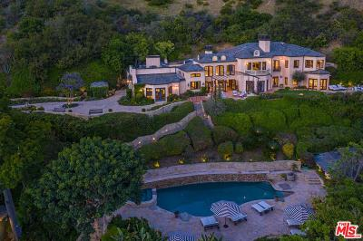 Malibu Single Family Home For Sale: 3250 Serra Road