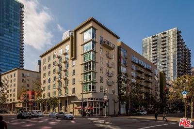 Los Angeles Condo/Townhouse For Sale: 645 West 9th Street #738