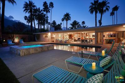 Palm Springs Single Family Home Active Under Contract: 1479 East San Lorenzo Road