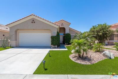 Palm Desert Single Family Home Active Under Contract: 37261 Medjool Avenue