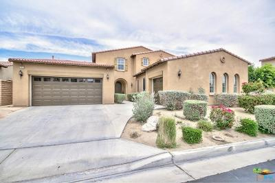 Indio Single Family Home Active Under Contract: 82622 Belfort Court