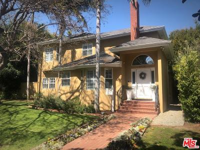 Los Angeles Single Family Home Active Under Contract: 2730 Selby Avenue