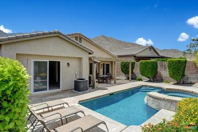 Palm Springs Single Family Home Active Under Contract: 1134 Oro Ridge