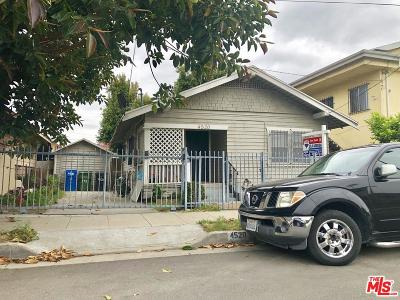 Los Angeles Single Family Home For Sale: 4520 Menlo Avenue