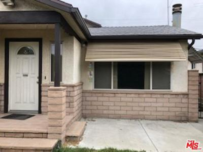 Single Family Home For Sale: 5368 South Centinela Avenue