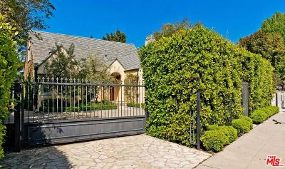 Los Angeles Single Family Home Active Under Contract: 343 South Bundy Drive