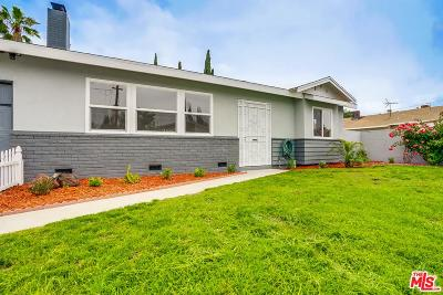 Van Nuys Single Family Home For Sale: 13346 Kittridge Street