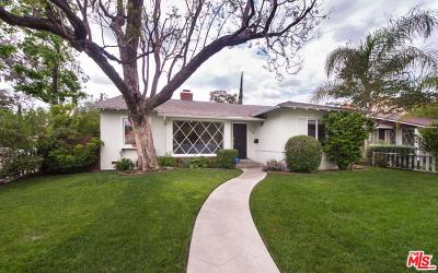 Sherman Oaks Single Family Home For Sale: 4905 Fulton Avenue